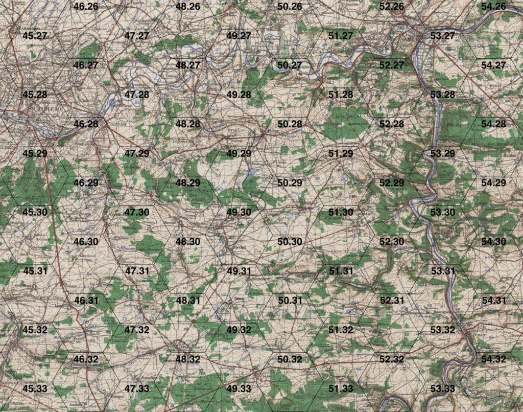 WWI Map Workspace